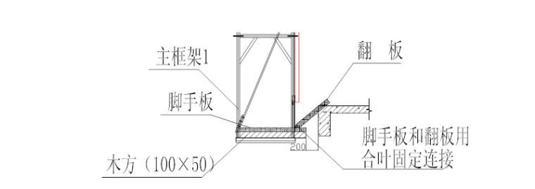 超高层附着式升降脚手架安全专项施工方案-04 翻板制做