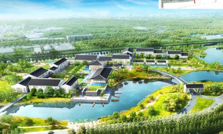 [上海]精致休闲国际旅游度假区规划设计方案-度假酒店效果图