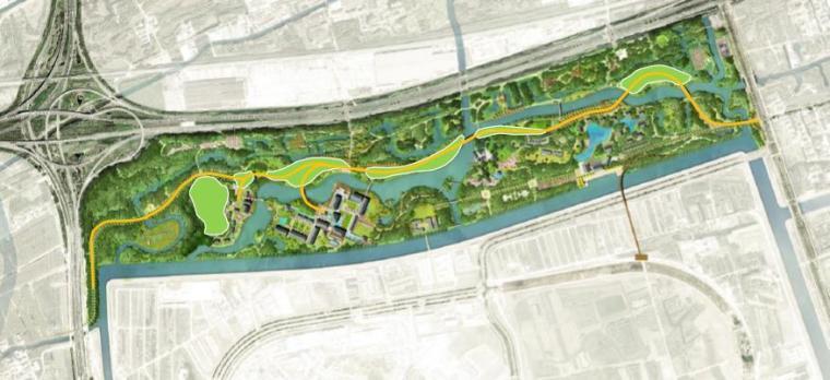 [上海]精致休闲国际旅游度假区规划设计方案-总平面图