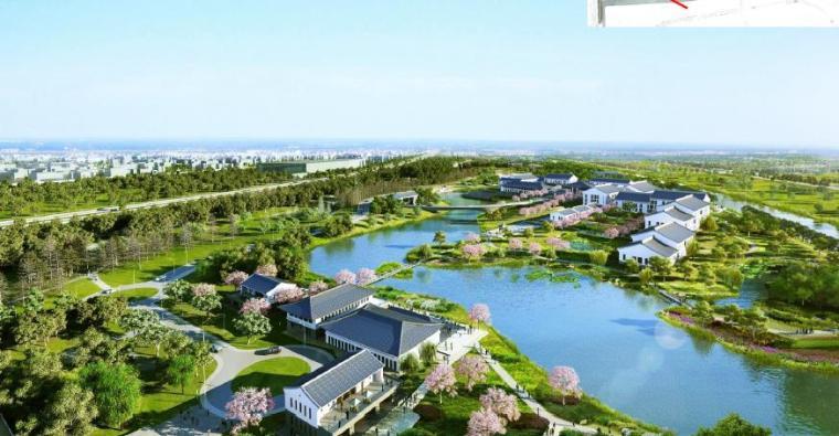 [上海]精致休闲国际旅游度假区规划设计方案-西区效果图