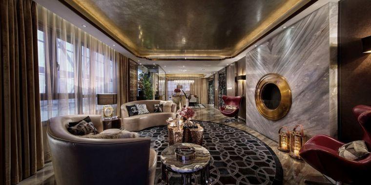[深圳]234㎡欧式三居家装样板房设计施工图-201603241736003535