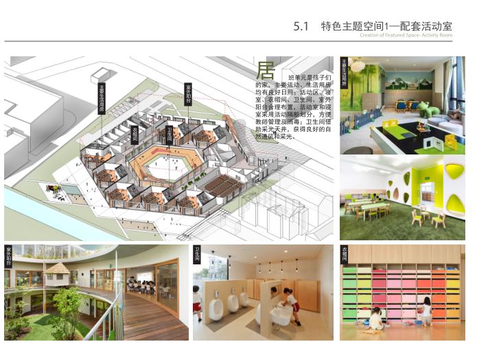 无锡庭院式16班幼儿园规划设计方案文本2019-配套活动室