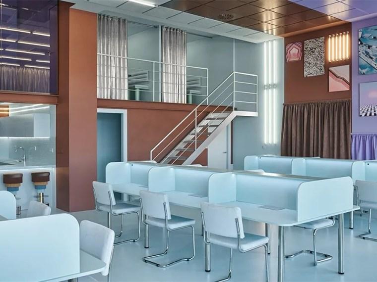 瓦伦西亚联合办公空间设计室内实景图 (4)_副本