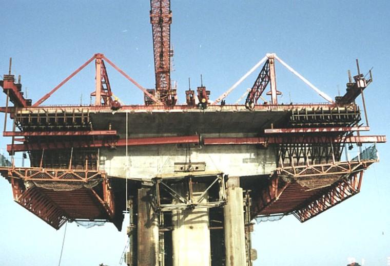 桥梁工程施工技术分类介绍(116页)-悬浇~挂篮示例