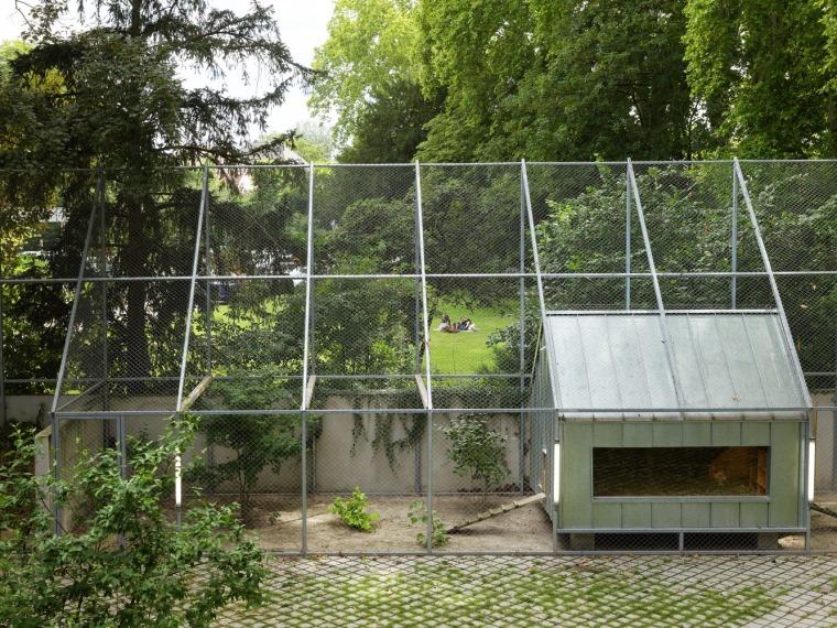 法国史特拉斯堡动物园的教学农场和游客中心外部实景图3