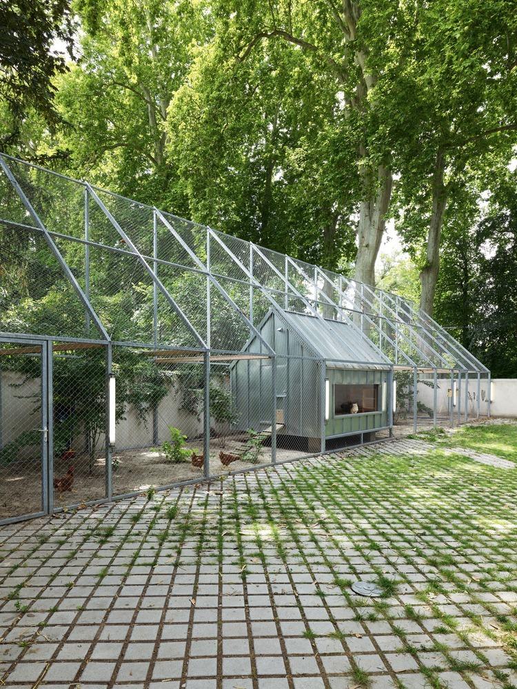 法国史特拉斯堡动物园的教学农场和游客中心外部实景图4