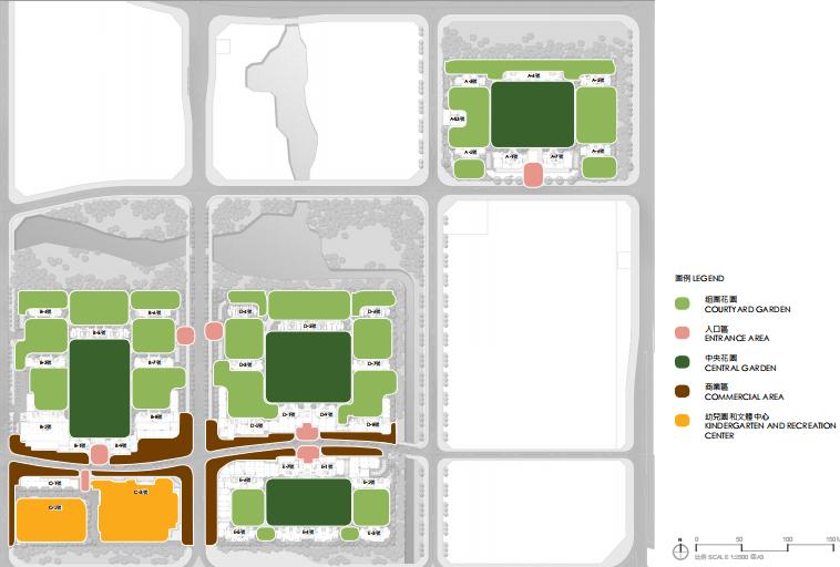 [福建]厦门现代创意自然园林住宅景观设计-功能分析