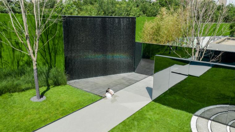 石家庄融创中心示范区景观实景图 (2)