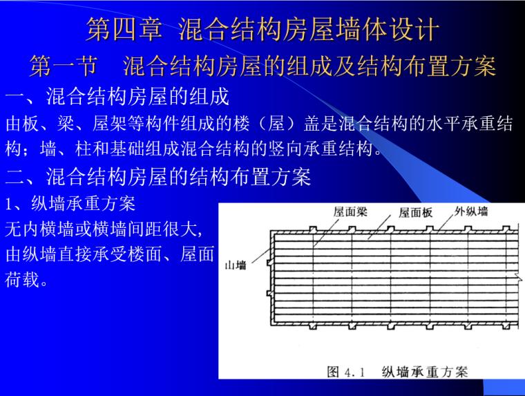 砌体结构设计PPT(108页)-混合结构房屋的组成及结构布置方案