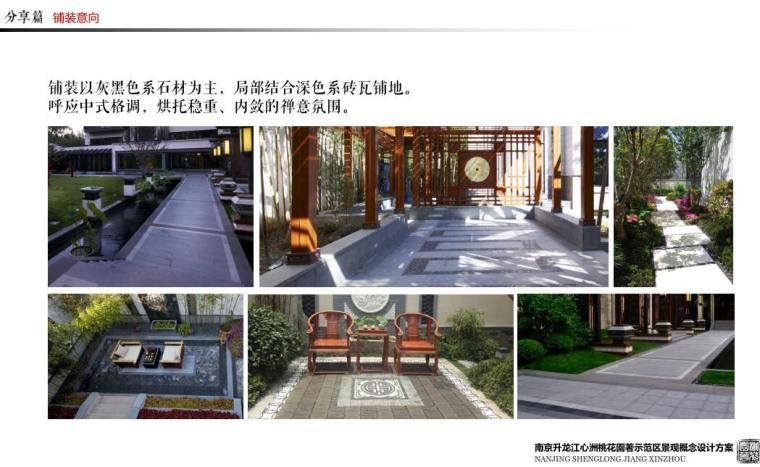 [江苏]生态优质示范区景观概念设计方案-铺装意向