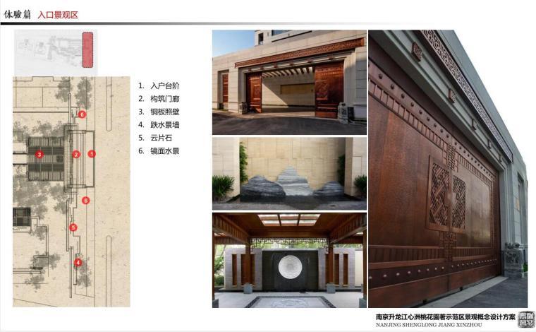 [江苏]生态优质示范区景观概念设计方案-入口景观区