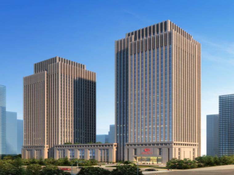 36层框架核心筒商务楼基础工程施工方案-01
