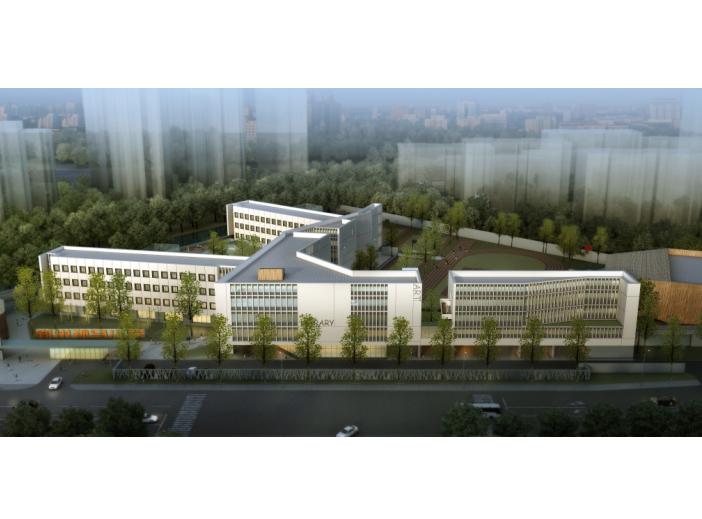 宁波开放式孙马学校规划建筑设计方案文本-效果图2