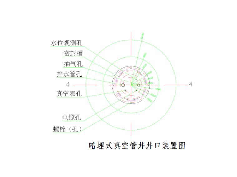 [北京]地铁降水工程专项施工方案-管井井口装置图