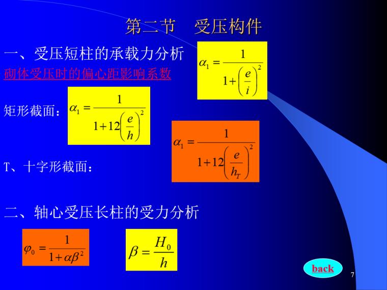 砌体结构设计PPT(108页)-受压构件