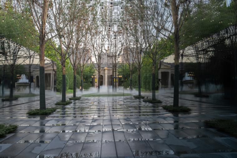 石家庄融创中心示范区景观实景图 (28)