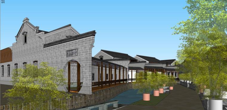[浙江]宁波中式风格别墅建筑模型设计-宁波中式风格别墅建筑模型设计 (8)