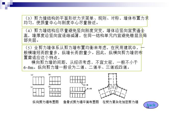 高层建筑结构PPT(103页)-剪力墙结构布置原则