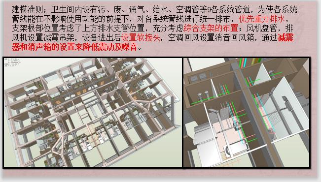 酒店标准层BIM机电安装优化(含模型图纸)-建模准则