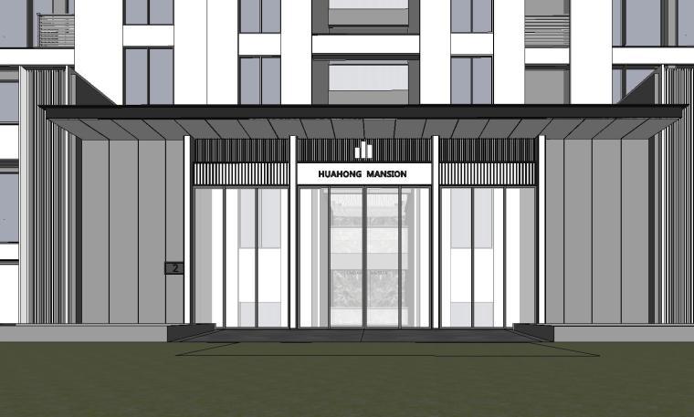 温州知名企业现代江景豪宅建筑模型设计 (6)