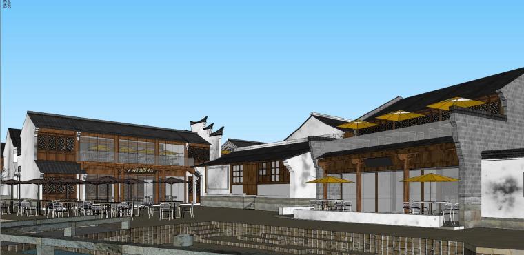 [浙江]宁波中式风格别墅建筑模型设计-宁波中式风格别墅建筑模型设计 (5)
