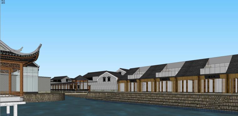 [浙江]宁波中式风格别墅建筑模型设计-宁波中式风格别墅建筑模型设计 (6)