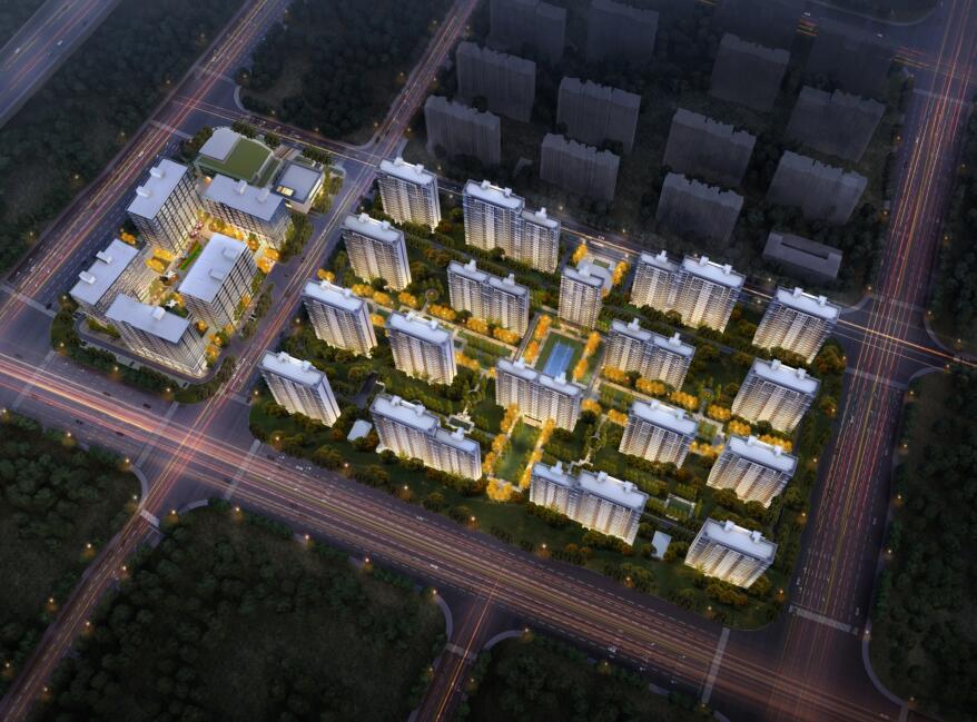 江苏礼仪典雅轻奢住宅商业规划建筑中标方案