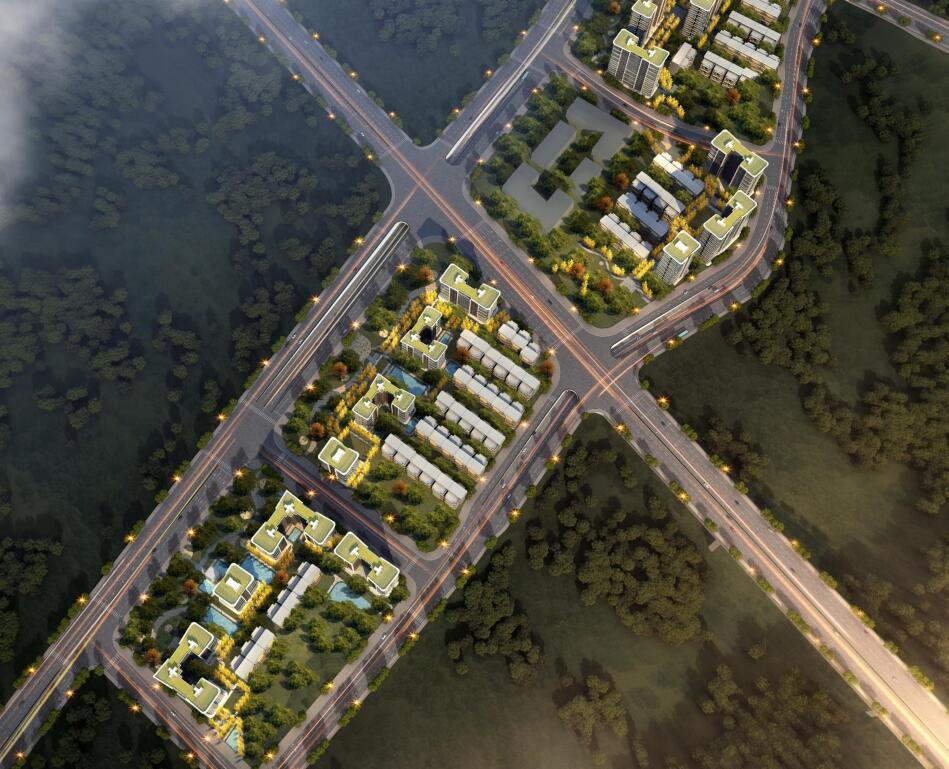 [重庆]生态宜居社区山地住宅规划建筑设计