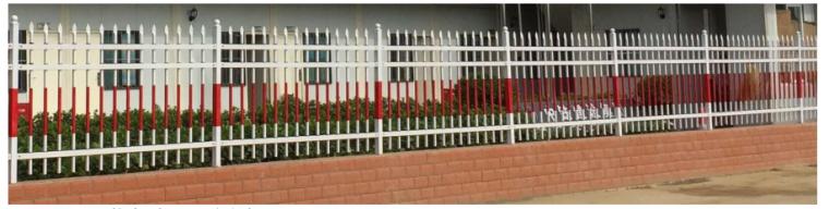 35层框剪结构综合商业楼施工组织设计-10 项目办公区、生活区围墙
