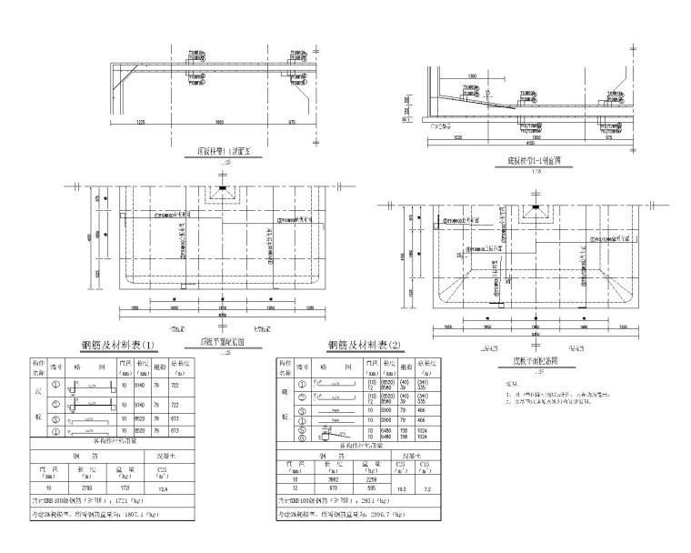 农田基础设施建设项目图册清单及招标文件-200m3高位水池结构设计图