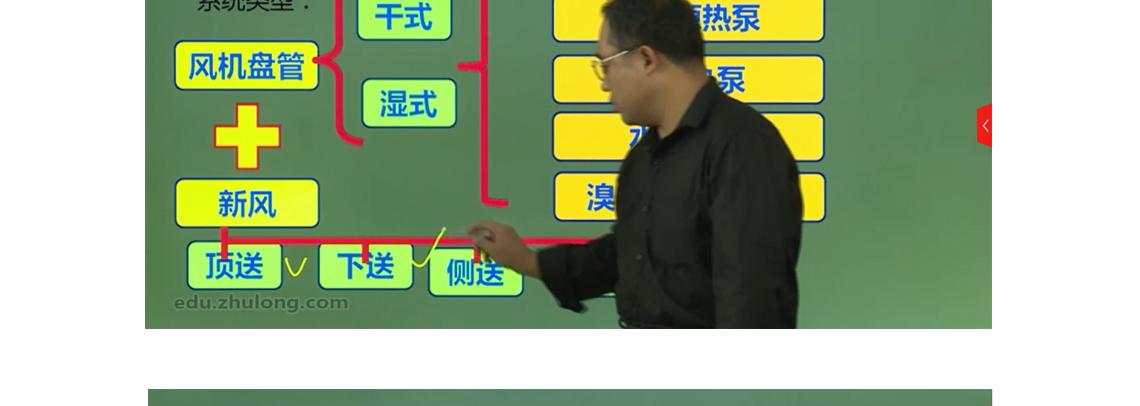 本课程主要介绍空调系统的设计,包括设计前的准备工作,方案的论证,并举例讲解系统类型,有助于更好的了解并掌握其设计思路,组空形式、供热形式。负荷的计算小节,设备选型,图纸绘制的讲解。