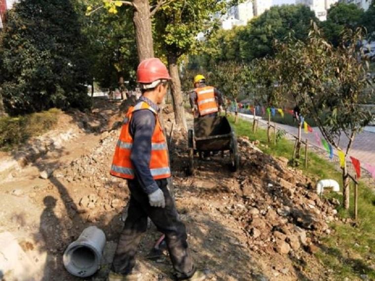 雨污分流管道施工方案-混凝土运输