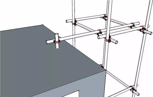 250套建筑工程分部分项施工资料合集-三维立体图解脚手架工程,通俗易懂!_9
