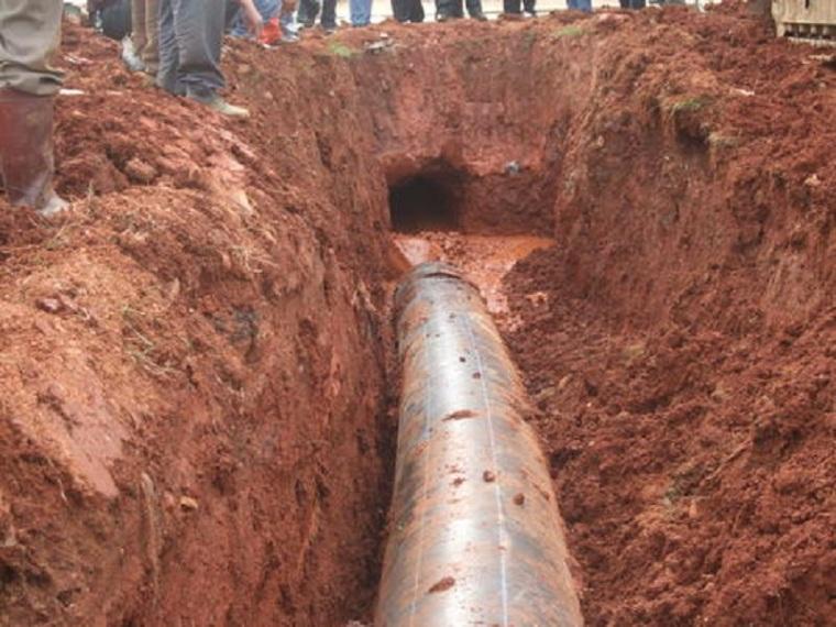 灌区引水工程顶管施工安全方案-顶管引水