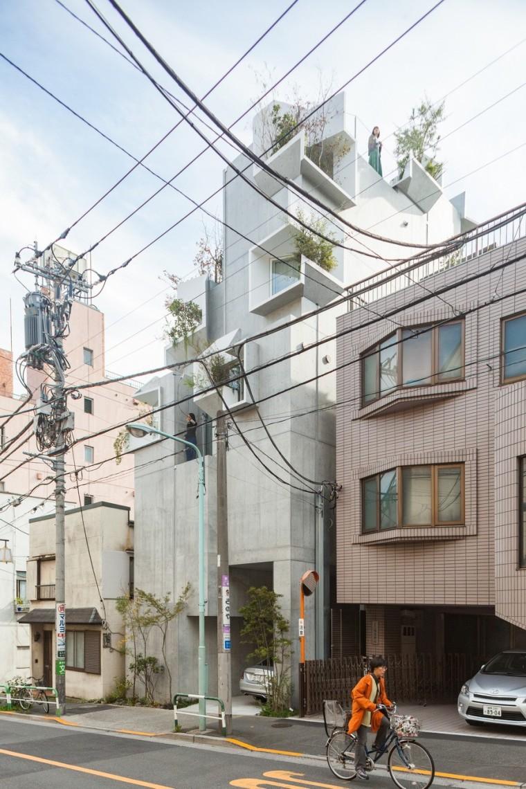 日本丰岛画廊住宅/平田晃久建筑事务所_1