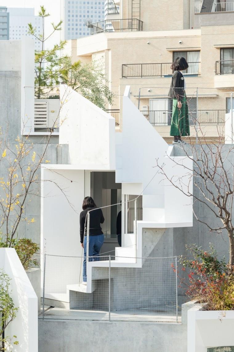 日本丰岛画廊住宅/平田晃久建筑事务所_4