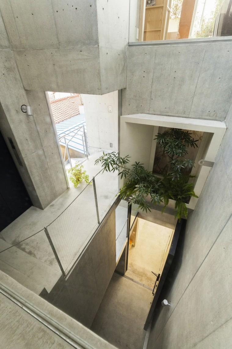 日本丰岛画廊住宅/平田晃久建筑事务所_10