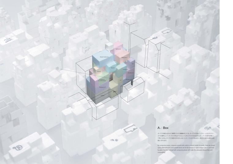 日本丰岛画廊住宅/平田晃久建筑事务所-m2 _Concept_A1_Box_0001.jpg