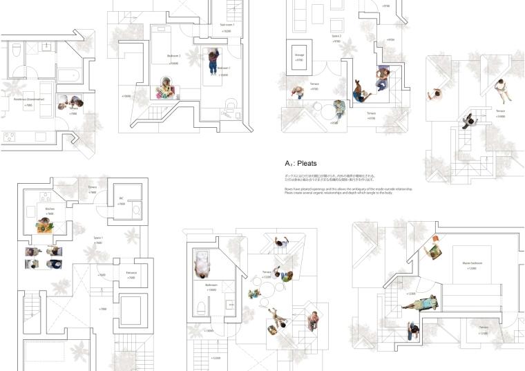 日本丰岛画廊住宅/平田晃久建筑事务所-m3 _Concept_A2_Pleats_0001.jpg