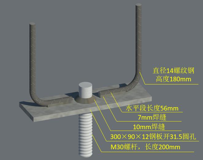 外墙挂板安装BIM技术交底(含模型汇报)-外墙挂预埋件