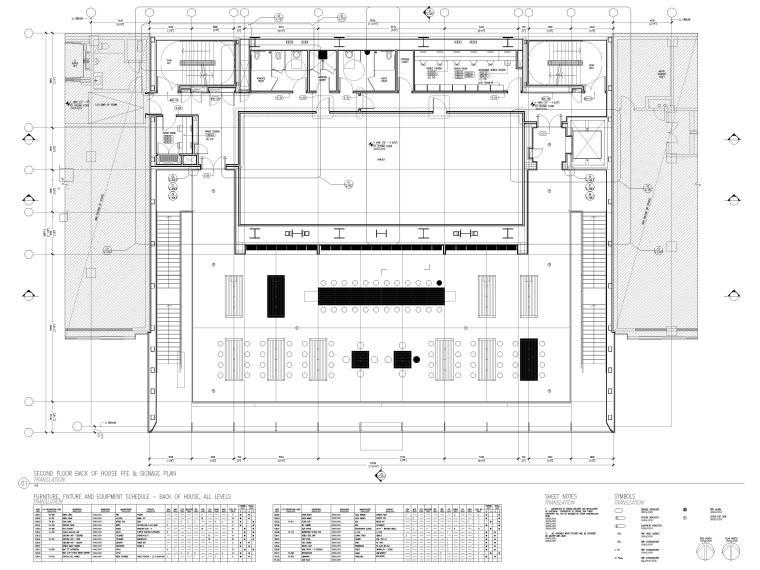 [杭州]西湖苹果直营店改造及装修工程施工图-二层平面布置图