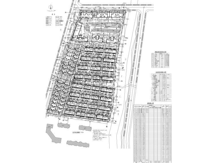 大连科技小镇启动区住宅建筑施工图纸2018-健康科技小镇施工总图