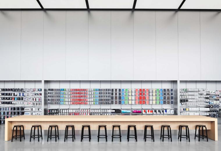 [杭州]西湖苹果直营店改造及装修工程施工图-West Lake Apple Store-07