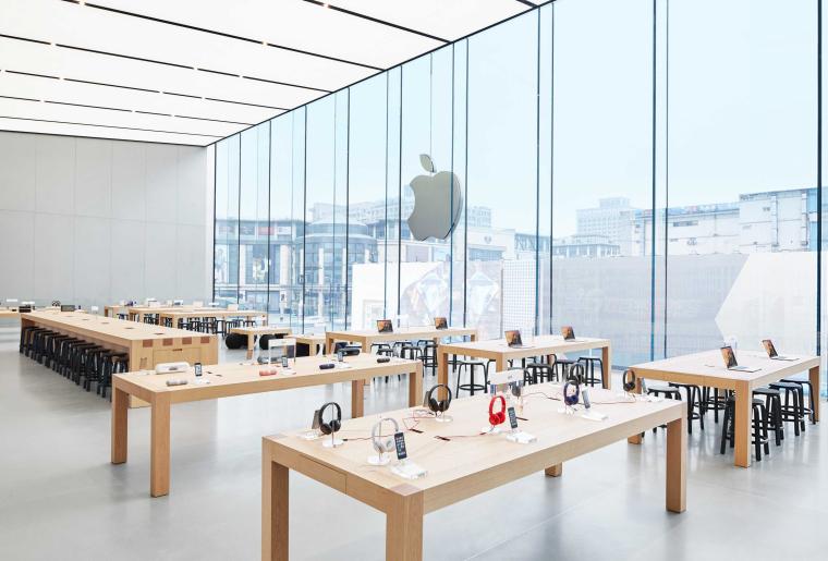 [杭州]西湖苹果直营店改造及装修工程施工图-West Lake Apple Store-08