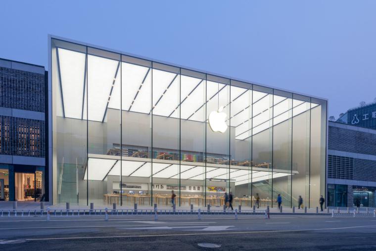 [杭州]西湖苹果直营店改造及装修工程施工图-West Lake Apple Store-11