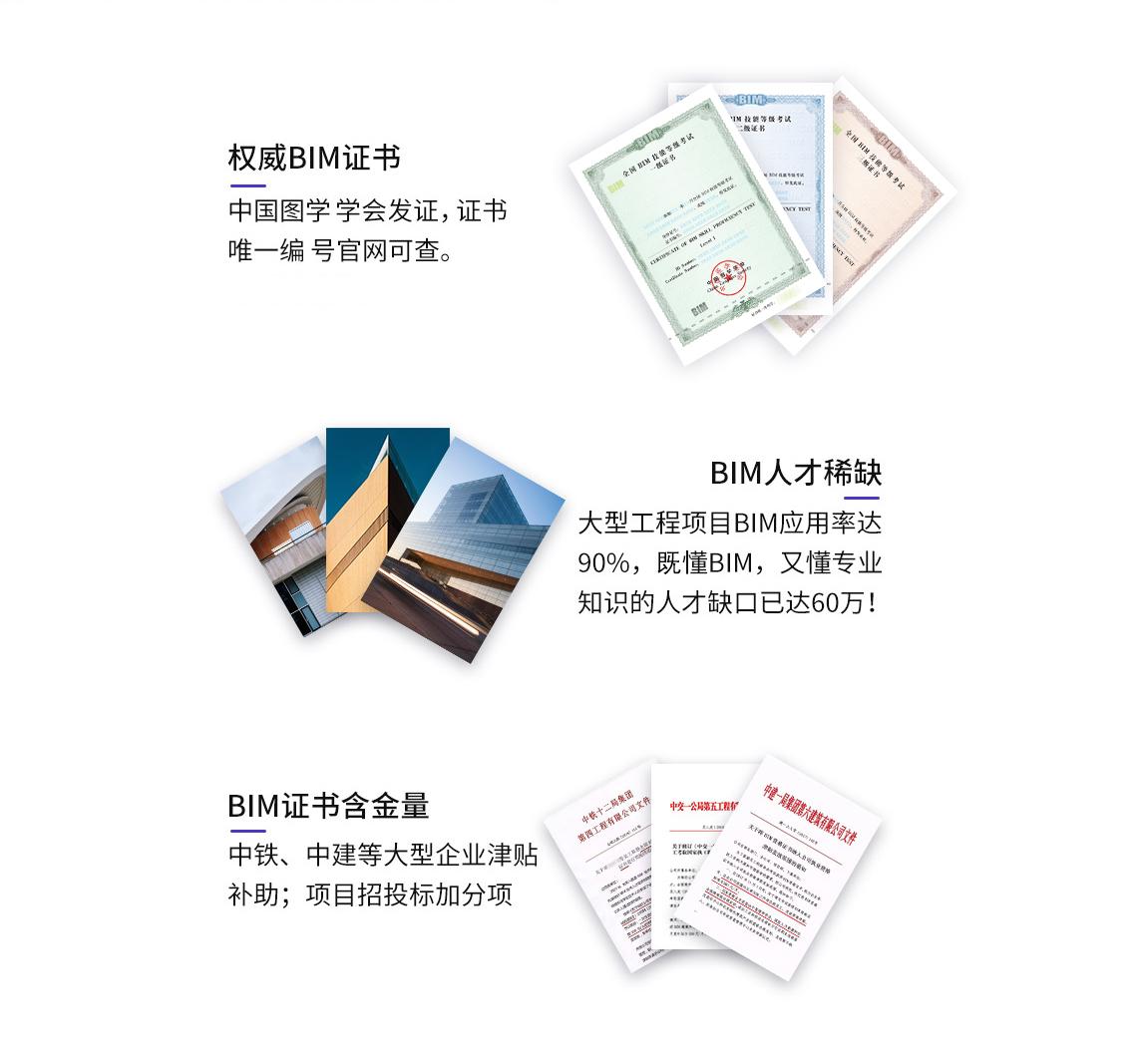 中国图学学会举办的BIM等级考试目前是社会认可度高的BIM考试,所颁发的证书也是含金量高的证书。
