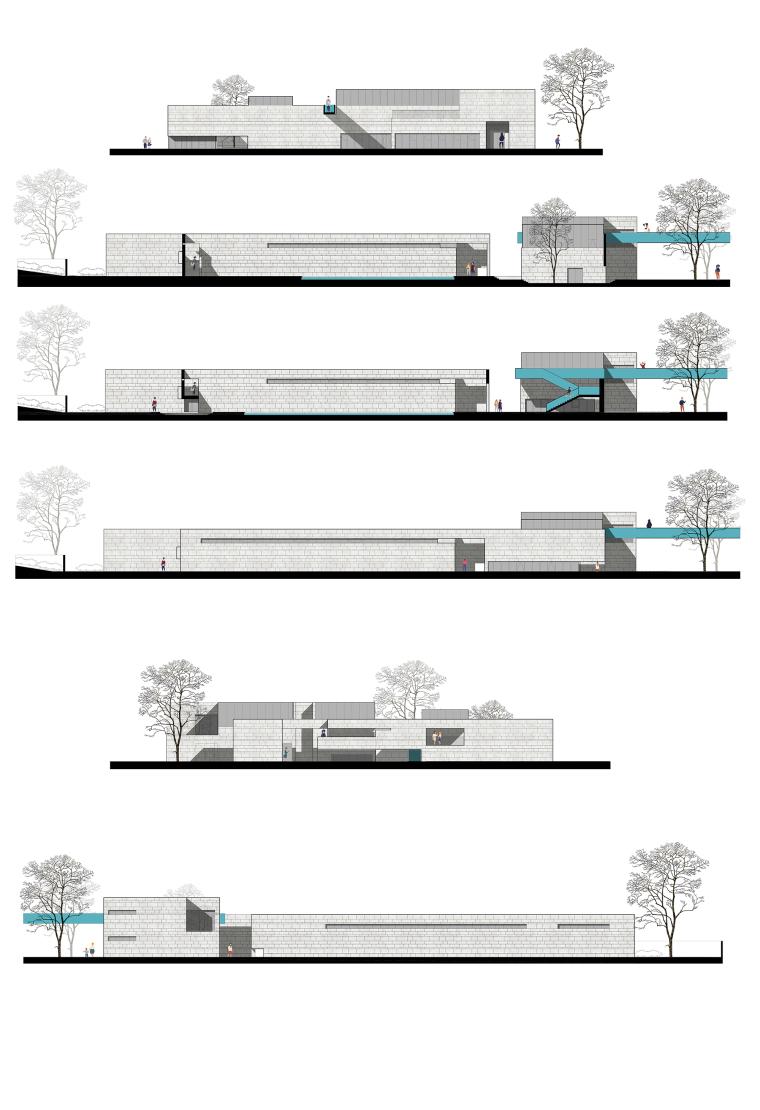 北京运河美术馆立面图