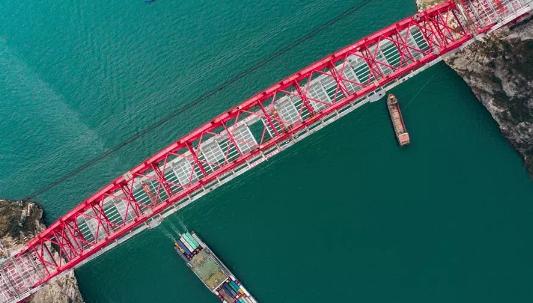 世界最大跨度钢箱桁架推力拱桥,晒主桥设计_11