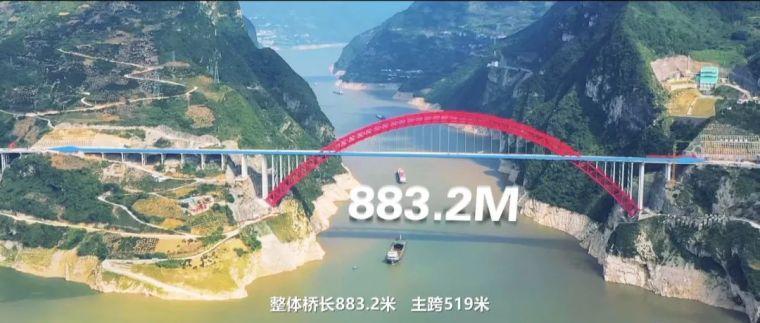 世界最大跨度钢箱桁架推力拱桥,晒主桥设计_18