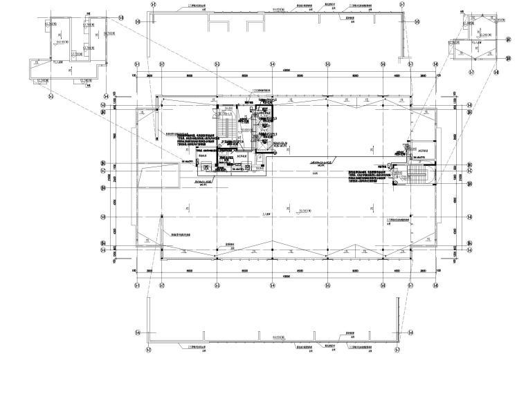 中铁_十六层办公楼电气施工图(2020.6)-3智能化平面图